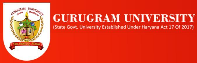 gurugram university vacancy 2020