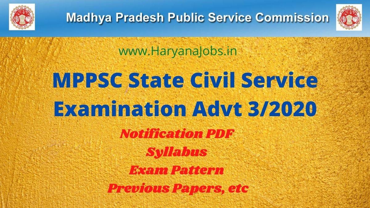 MPPSC Civil Services 2020_2021