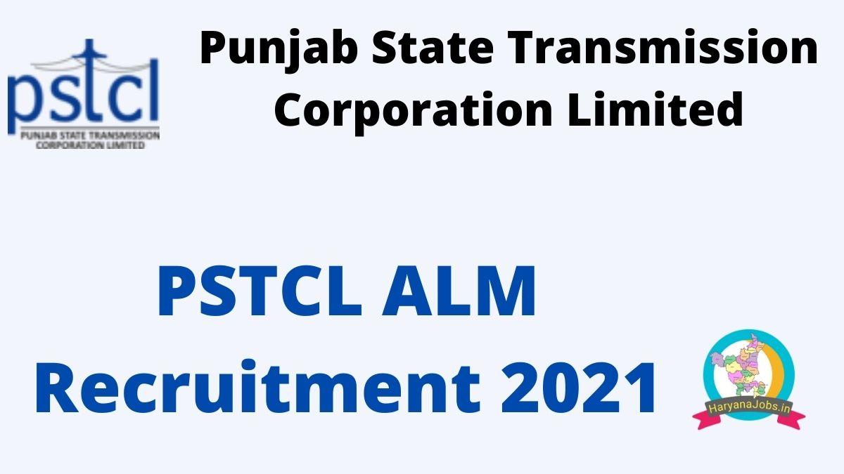 PSTCL ALM Recruitment 2021