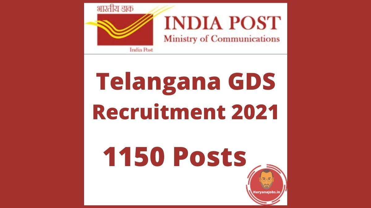 Telangana GDS Recruitment 2021 Postal Circle Post Office