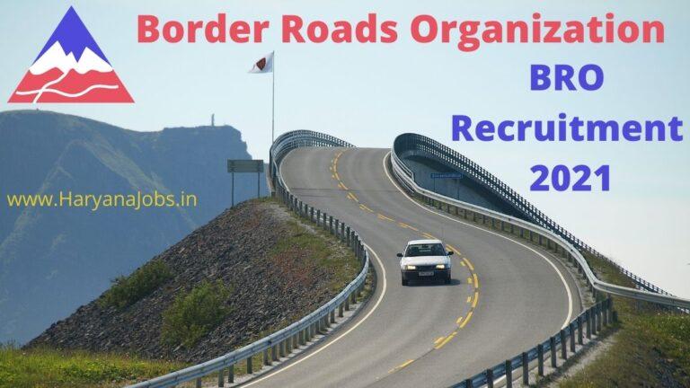 bro recruitment 2021 627 posts notification and offline