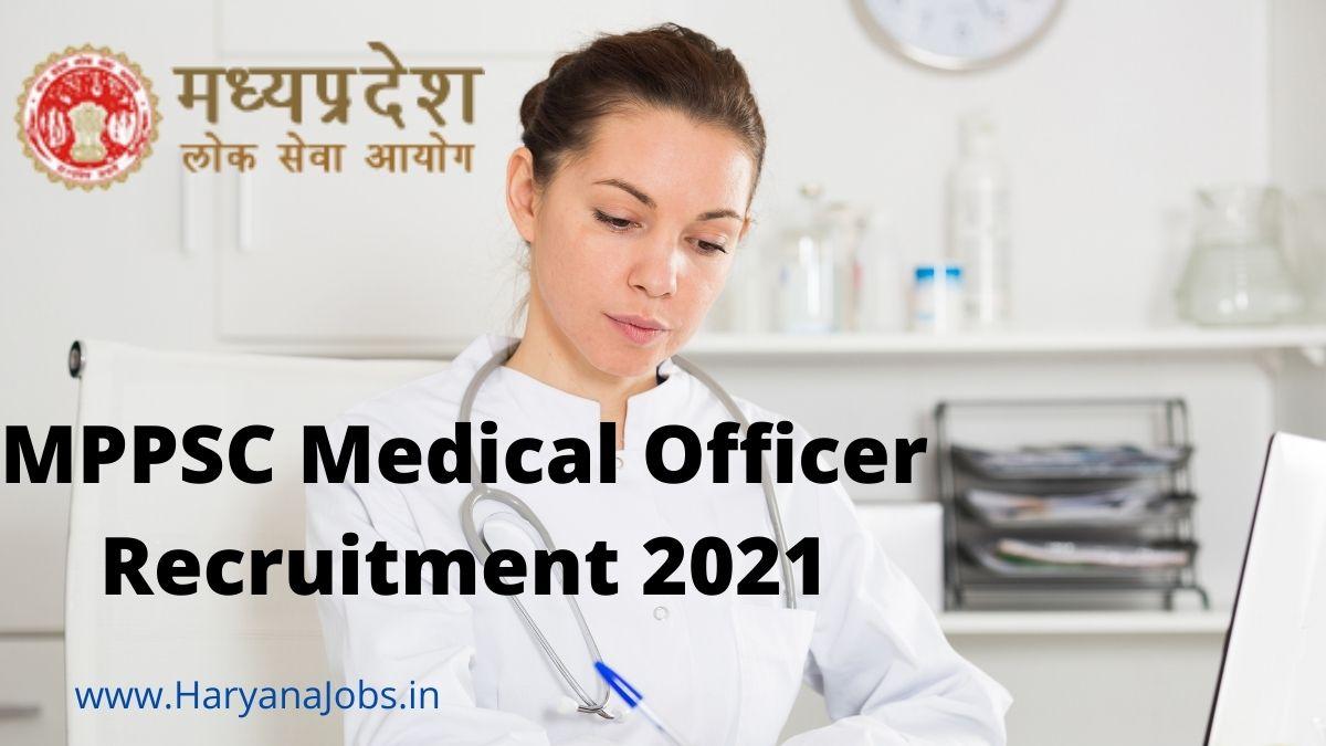 MPPSC Medical Officer Recruitment 2021