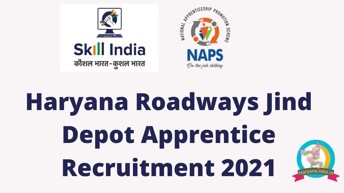 Haryana Roadways Jind Depot Apprentice Recruitment 2021