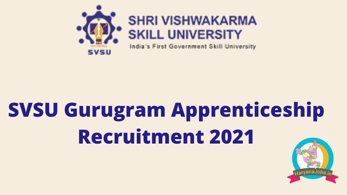 SVSU Apprentice 2021