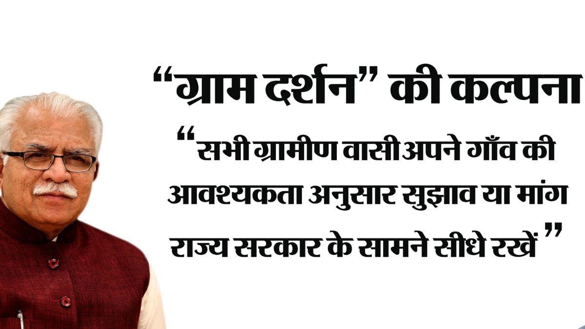 Gram Darshan Haryana Portal